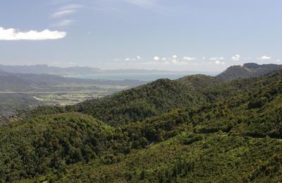 Golden Bay from Takaka Hill, Nelson