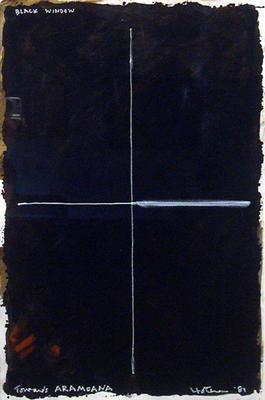 Black Window Towards Aramoana