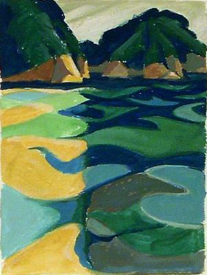 Untitled (waterscape)