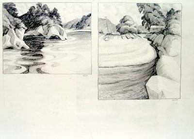 Untitled (Beachscape) 2 scenes