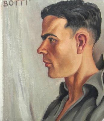 Portrait of Leo Bensemann