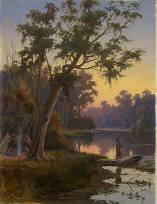 Australian River Scene