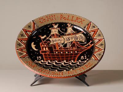Commemorative platter