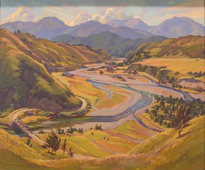 Golden Summer: Junction of the Buller and Howard Rivers
