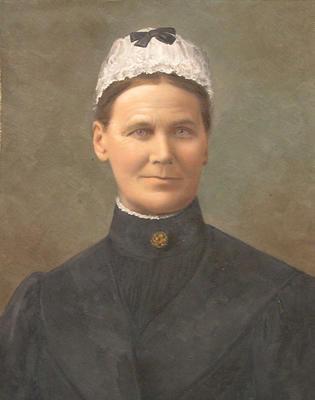 Portrait of Mrs T.J. Thompson