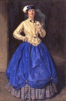 A Lady in Fancy Dress
