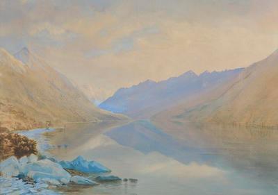 New Zealand Lake Scene (Lake Rotoiti)