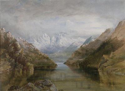 A Lake Scene
