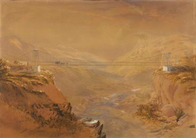 Swing Bridge and Ravine
