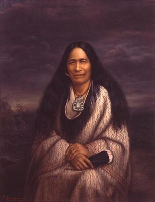 Ngārongoā (née Kātene) Ngā Hōta (Hūria Mātenga)