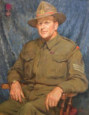 Sergeant A.C. Hulme VC