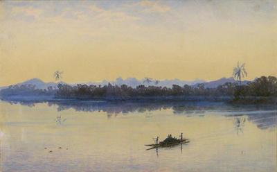 Evening in Fiji