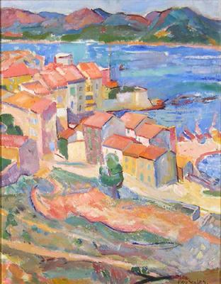 Untitled (Mediterranean Scene)