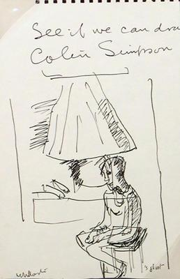 See if we can draw Colin Simpson