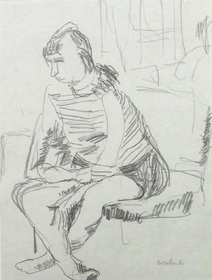 Clothed Model (Jean)