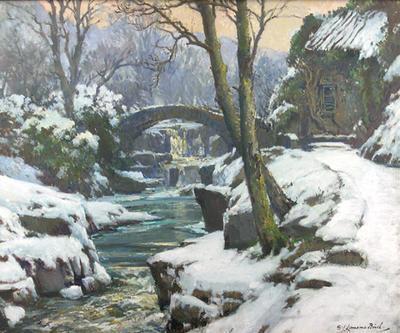 Jesmond Dene Under Snow
