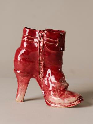Red Boots (Pair)