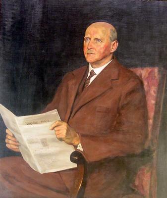 Portrait of Frederick Saunders