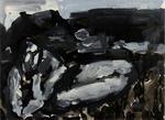 Figure in Landscape, Greymouth
